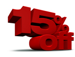 15% off any HJE Product
