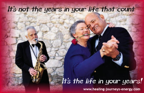 Quote - It's the life in your years!