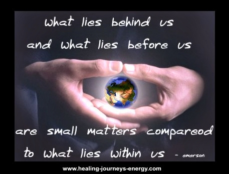 Quote - What lies within us!