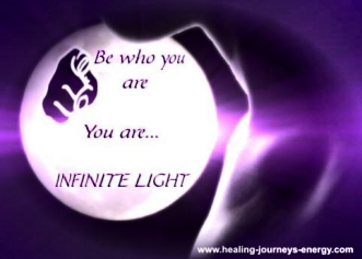 Infinite Light Quote
