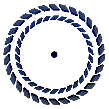Moving Wheels Illusion