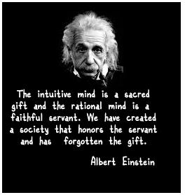 Intuition - Albert Einstein