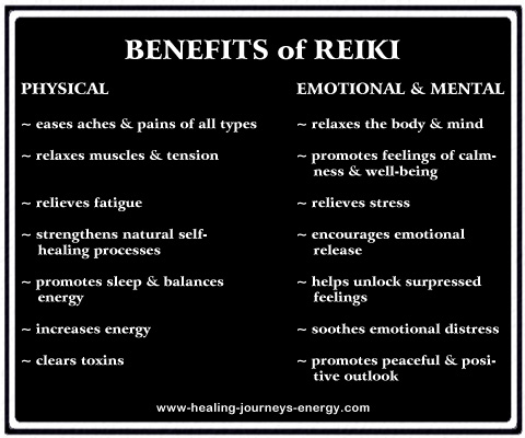 Benefits of Reiki!