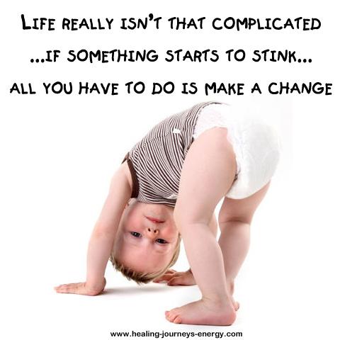 If it stinks, change it