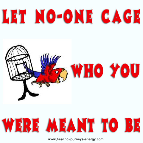 Let NO ONE Cage You!!