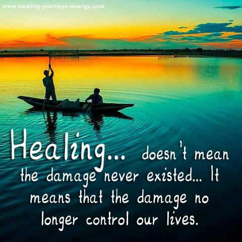 Healing!