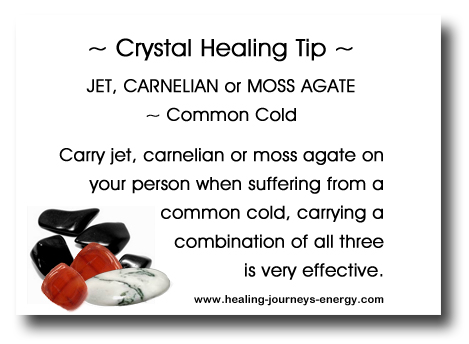 Crystal Healing Tip - Colds & Flu