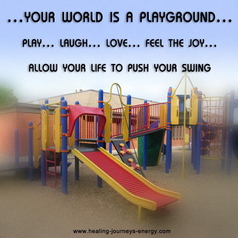What if YOUR world is a playground!