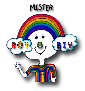 Mr ROY G BIV