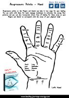 Free Hand Accupressure Points Chart