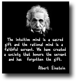 Intuition - Albert Einstein