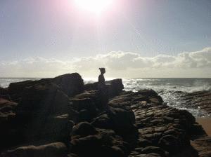 Elmarie on The Beach